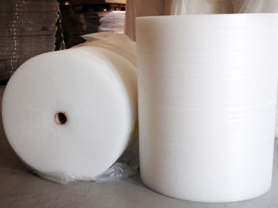 Bubble polythene wrap